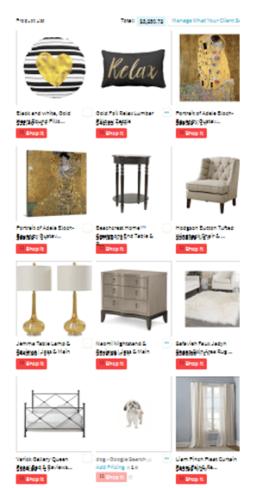 DF MBR shopping list